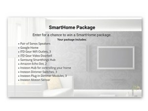 Win a Smart Home Package