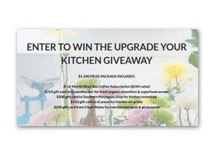 Upgrade Your Kitchen Giveaway