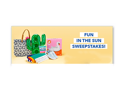 Keds Fun in the Sun Sweepstakes