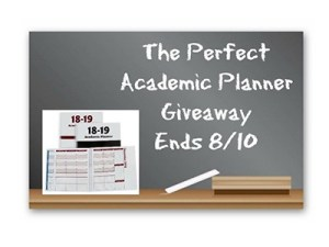 Perfect Academic Planner Giveaway
