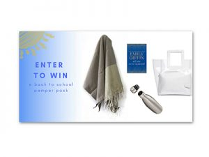 Win a Fouta Colors Pamper Pack