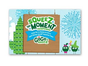 Squeez the Moment Sweepstakes