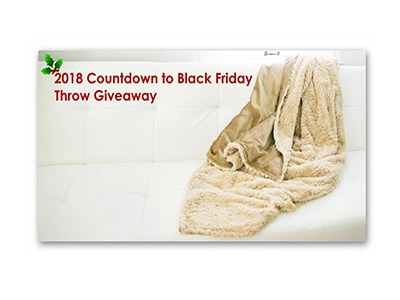 Bebe Bella Designs Minky Chenille Throw Giveaway