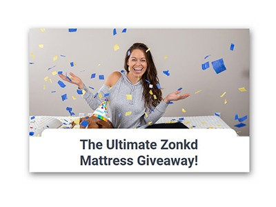 The Ultimate Zonkd Mattress Giveaway
