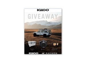 IGLOO Coolers Camera Instagram Giveaway