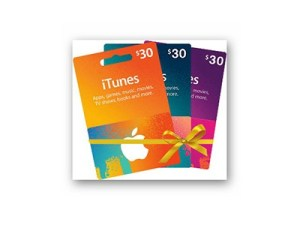Win a $30 iTunes Gift Card