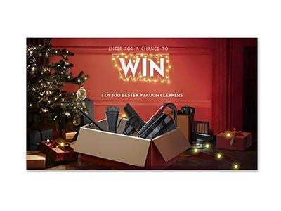 Win 1 of 100 Bestek Vacuum Cleaners