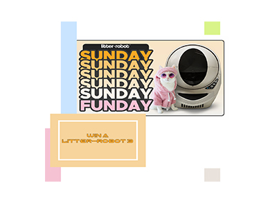 Litter Robot Sunday Funday Sweepstakes