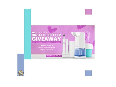 Mumba Breathe Better Giveaway
