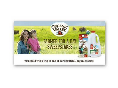 Organic Valley-Farmer for a Day Sweepstakes