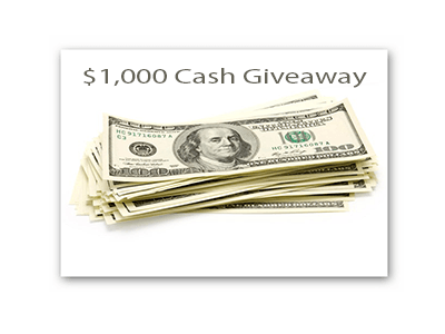 MyMoneyGoblin $1,000 Cash Sweepstakes