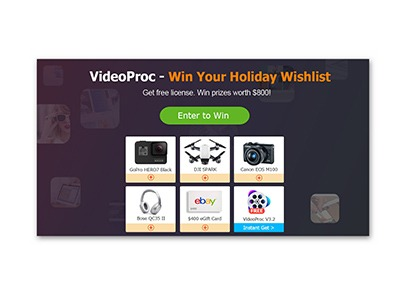 Win your Holiday Wishlist