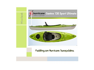 Win a Hurricane Kayak Sweepstakes