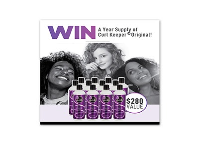 Win a Year Supply of Curl Keeper
