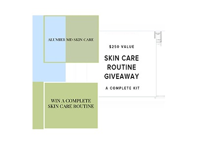 Alumier MD Skin Care Routine Giveaway