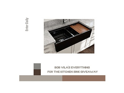 Bob Vila's – Everything for the Kitchen Sink Giveaway