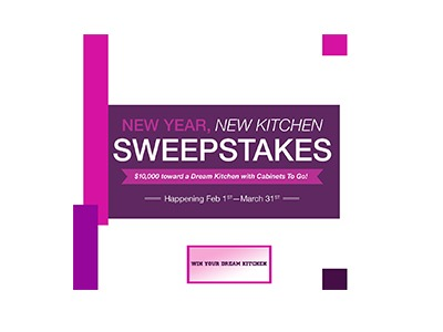 New Year New Kitchen Sweepstakes