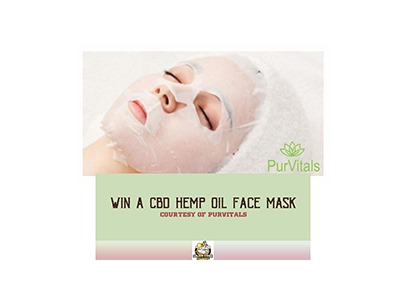 PurVitals CBD Facemask Giveaway