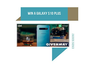 CNET Galaxy S10 Plus Giveaway
