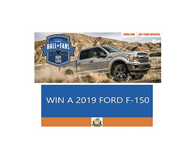 Win a 2019 Ford F-150