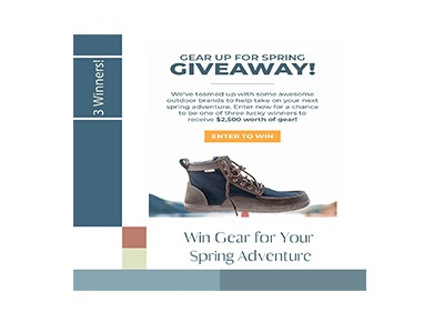 Gear Up For Spring Giveaway