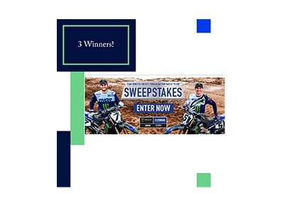 Team Replica Yamaha Sweepstakes