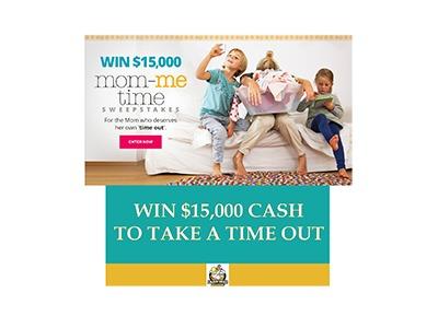 Mom-Me Time $15,000 Sweepstakes