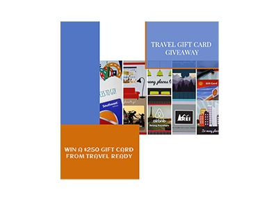 Travel Related Gift Card Giveaway