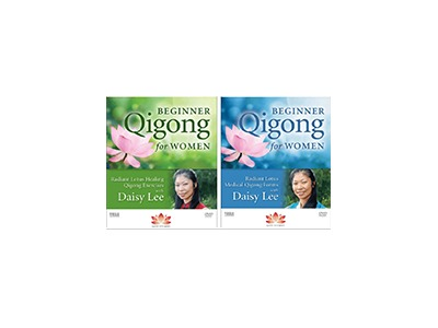 Daisy Lee's Beginner Qigong for Women DVDs Prize Pack