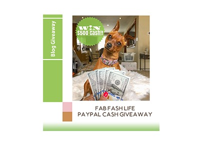 $500 PayPal Cash Giveaway