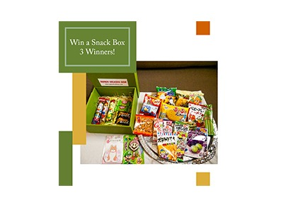 Win a Japan Okashi Snack Box