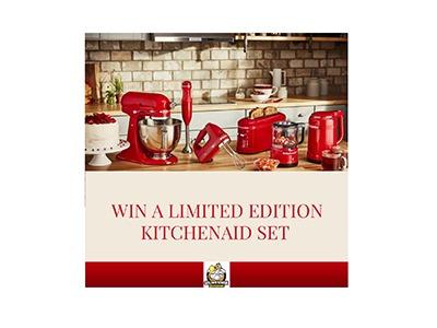 Win a Limited Edition KitchenAid Set