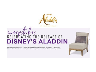 Ashley Home Store Sweepstakes
