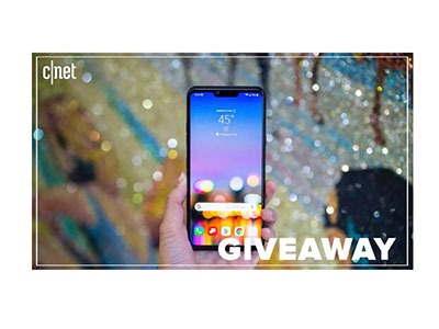 CNET LG G8 ThinQ Giveaway