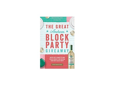 Great American Block Party Text Sweepstakes