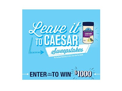 Leave it to Caesar Sweepstakes