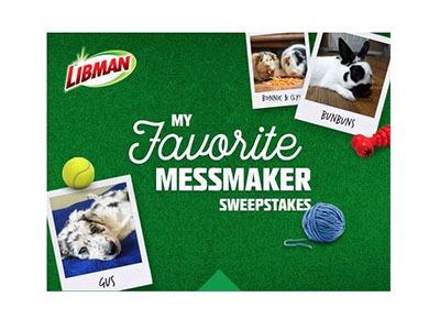 Libman My Favorite Messmaker Sweepstakes