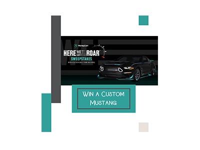 Win a Custom Mustang