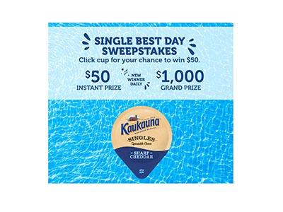 Kaukauna Cheese Instant Win Game