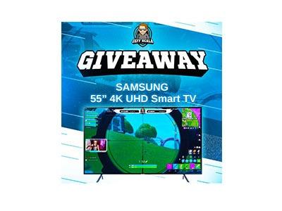 Win a Samsung 4K Smart TV