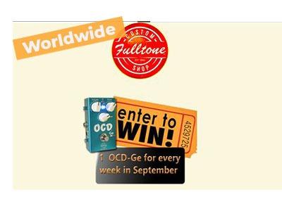 Fulltone Weekly OCD-GE Giveaway