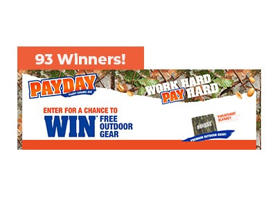 Hersheys Work Hard Pay Hard Sweepstakes