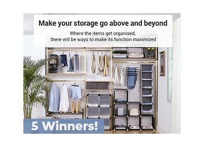 SONGMICS Home Storage Giveaway