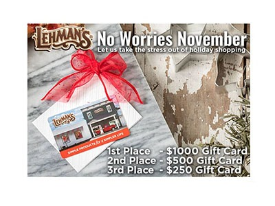Lehmans Gift Card Giveaway