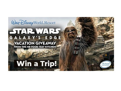 Star Wars Galaxy Vacation Giveaway