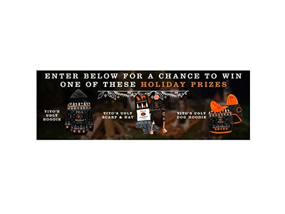 Titos Be A Giver Text to Win Sweepstakes