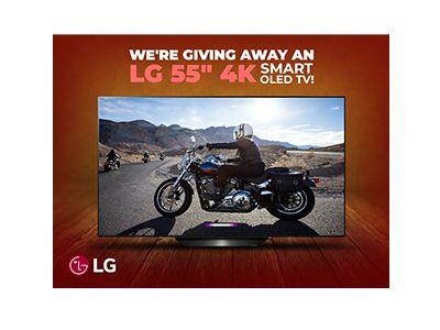 Win a LG 4K Smart TV
