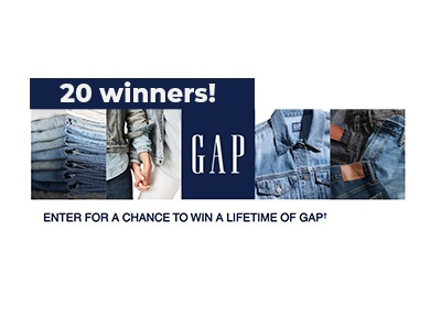 Gap For Life Sweepstakes