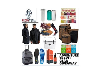 ReddyYeti Travel Gear Giveaway