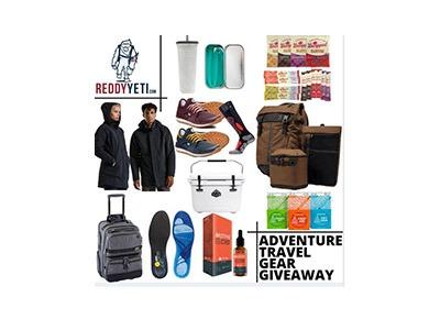 ReddyYeti Travel Gear Giveaway